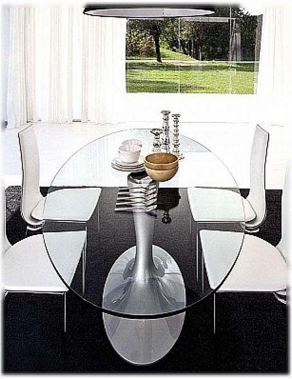 Tavolo TONIN CASA IMPERIAL - 8010FSV_glass. Tavoli e Sedie ...